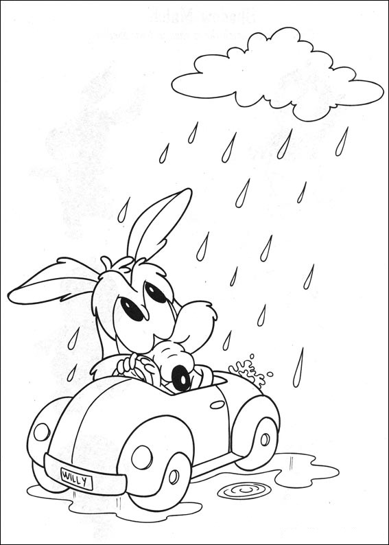baby looney coloring pages - photo#26