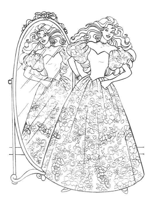 Retro Barbie Coloring Pages : Barbie coloring pages coloringpages