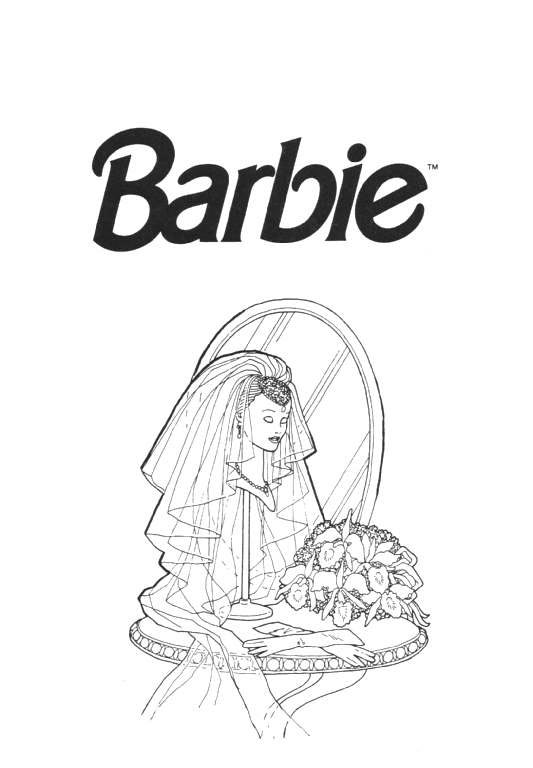 Barbie Coloring Pages Coloringpages1001