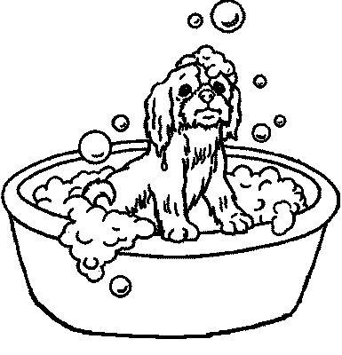 bath coloring pages coloringpages1001