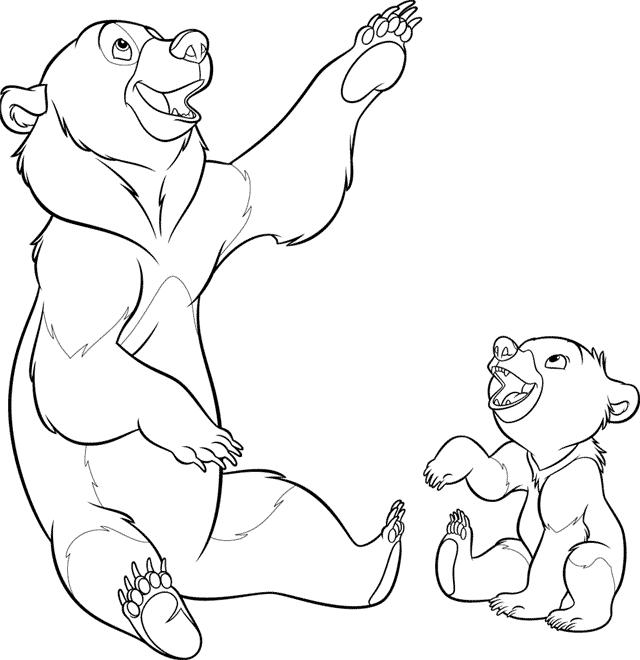 brother coloring pages - photo#18