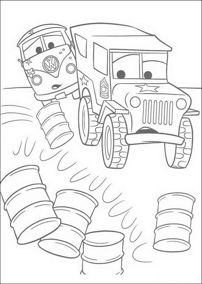 Cars Coloring Pages Coloringpages1001 Com Cars Coloring Pages