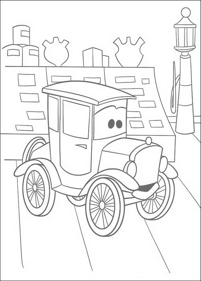 Coloring Pages Car Printable : Cars coloring pages coloringpages