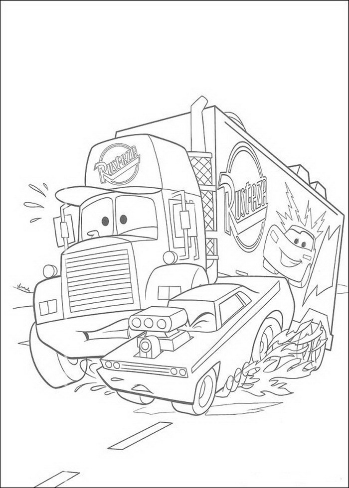 car garage coloring pages - photo#44