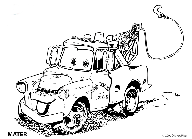 Cars Coloring Pages - Coloringpages1001.com
