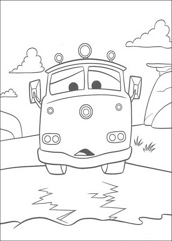 Cars Coloring Pages Coloringpages1001 Com Vehicles Coloring Pages