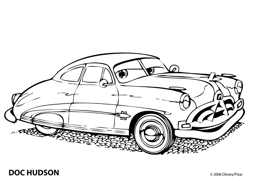 Cars coloring pages for Coches para pintar