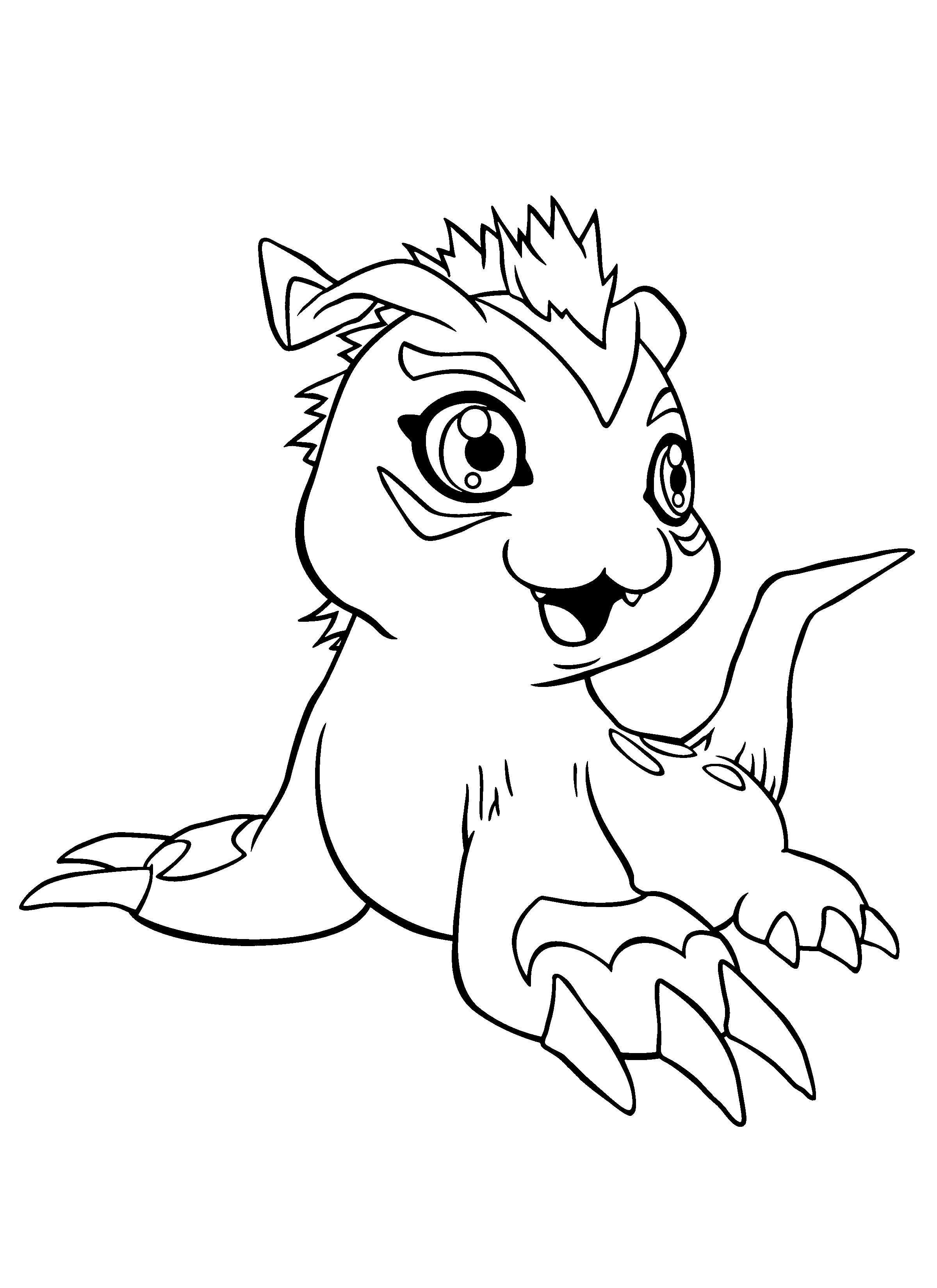 digimon coloring pages coloringpages1001