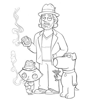Family  Coloring Pages on Family Guy Coloring Pages    Family Guy    Cartoons    Activity