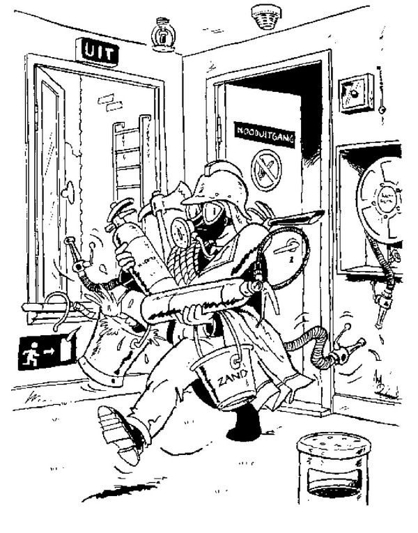 fire fighter coloring pages back to school coloring pages for - Fireman Coloring Pages