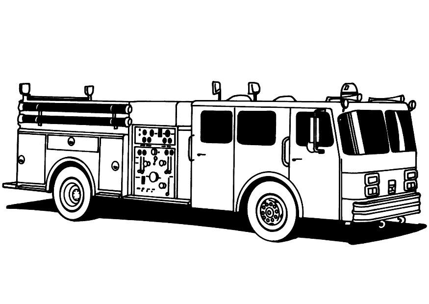 fireman coloring pages kindergarten free - photo#35