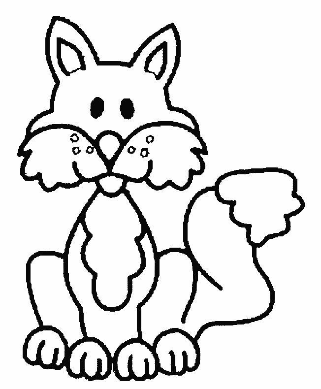 Fox Coloring Pages - Coloringpages1001.com