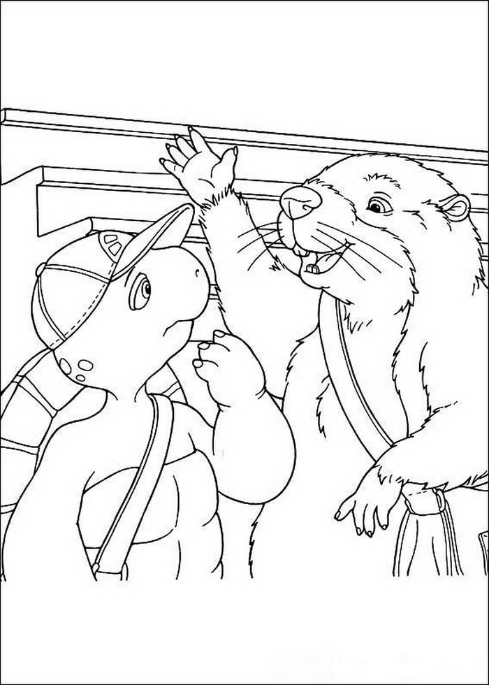 Franklin Coloring Pages Coloringpages1001 Com Franklin Coloring Pages