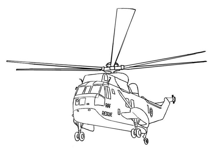 Elicottero Da Colorare : Helicopter coloring pages coloringpages
