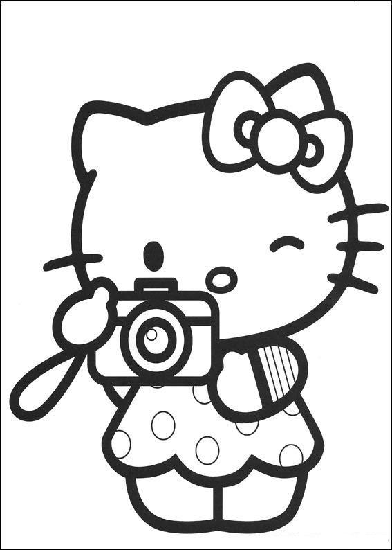Hello Kitty Baseball Coloring Pages : Hello kitty coloring pages coloringpages