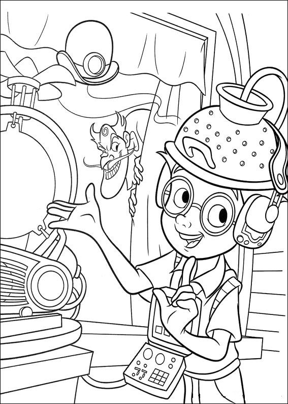 Meet The Robinsons Coloring Pages Coloringpages1001 Com The Coloring Book