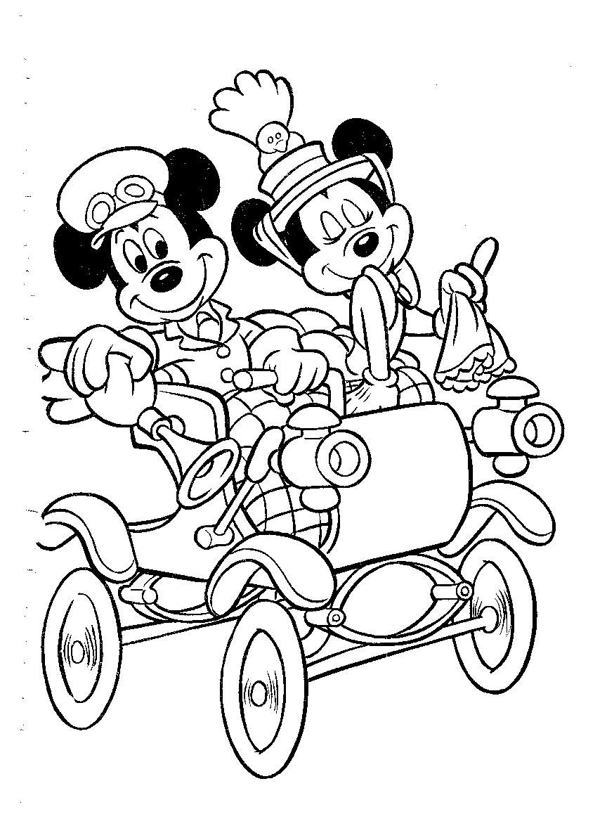 mickey mouse coloring pages coloringpages1001 com