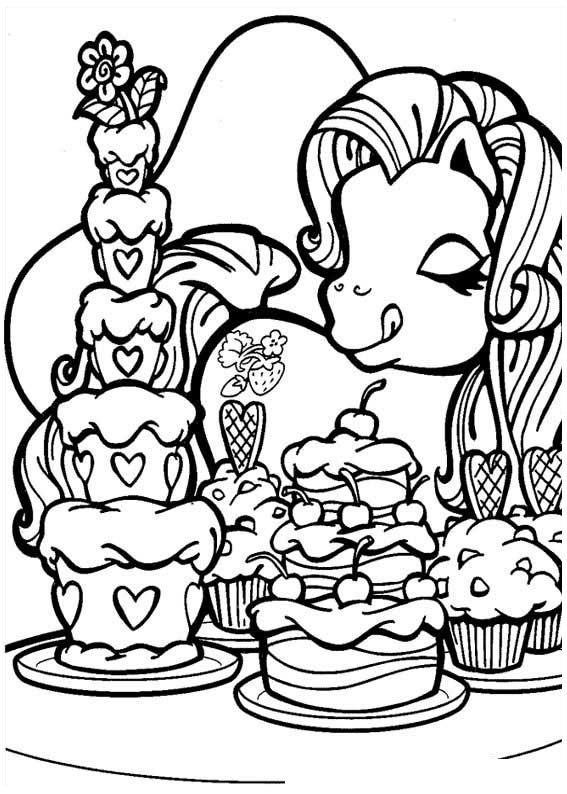y little pony coloring pages - photo #42