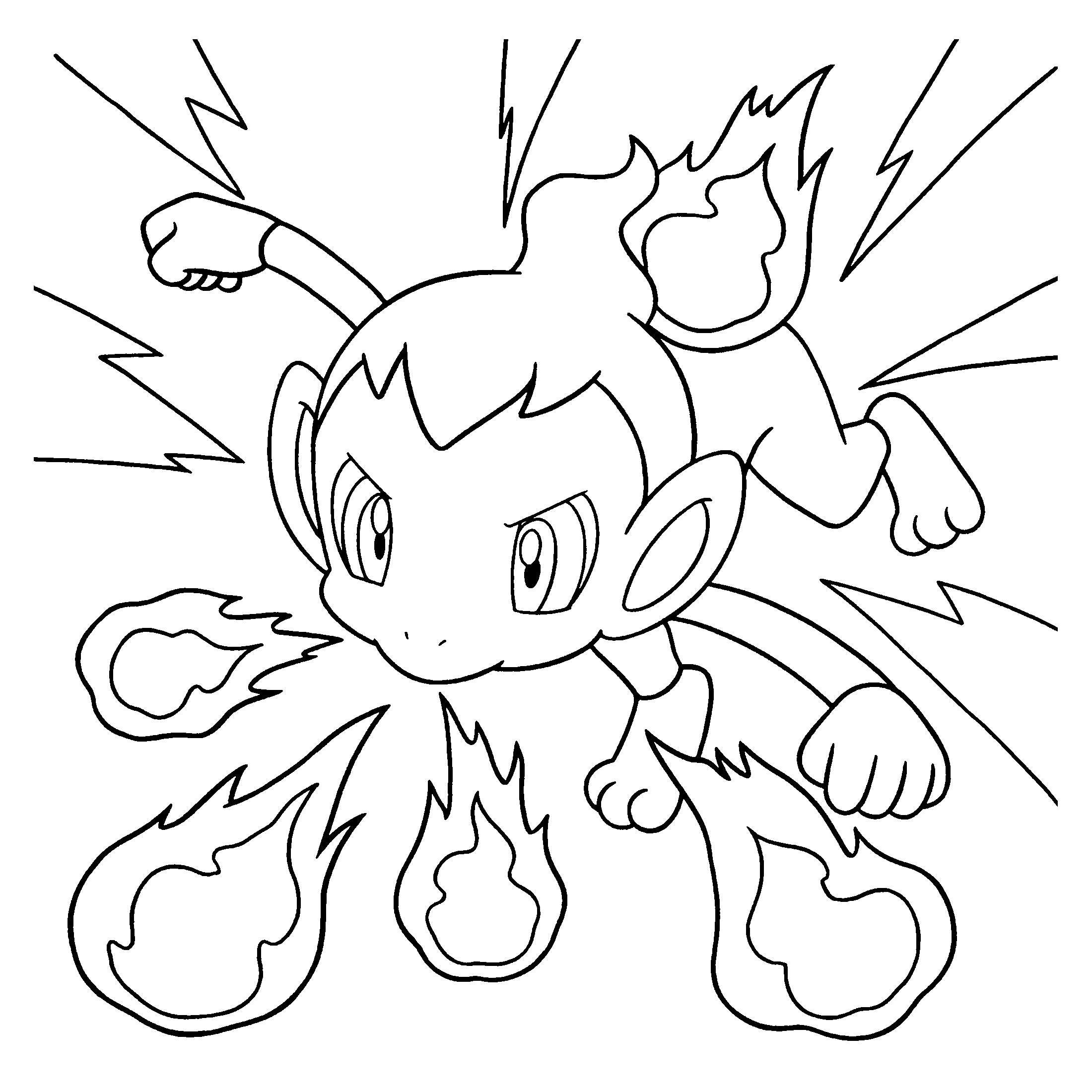 Ausmalbilder Pokemon Pikachu : Pokemon Diamond Pearl Coloring Pages Coloringpages1001 Com
