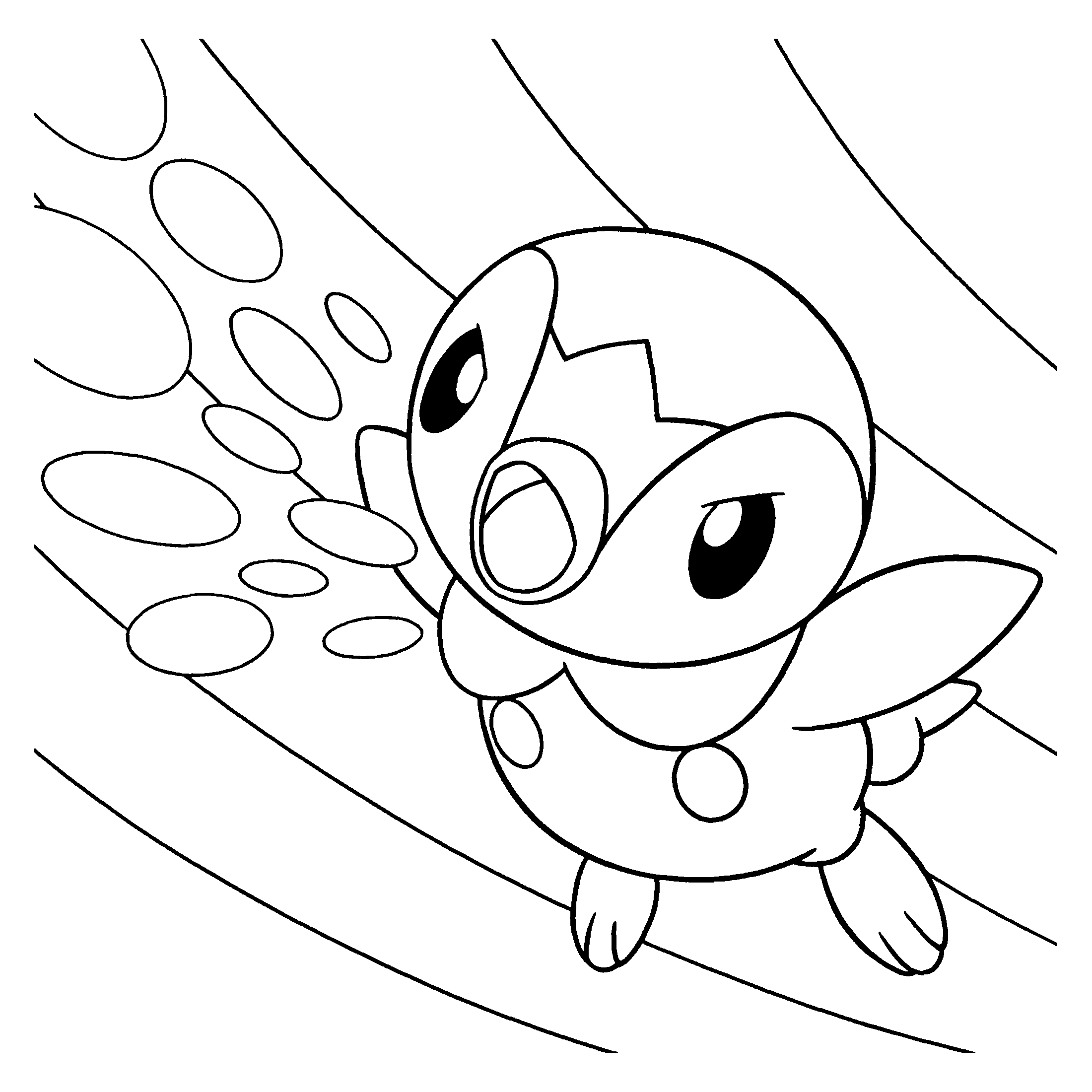 Pokemon Mewtu Ausmalbilder : Pokemon Diamond Pearl Coloring Pages Coloringpages1001 Com