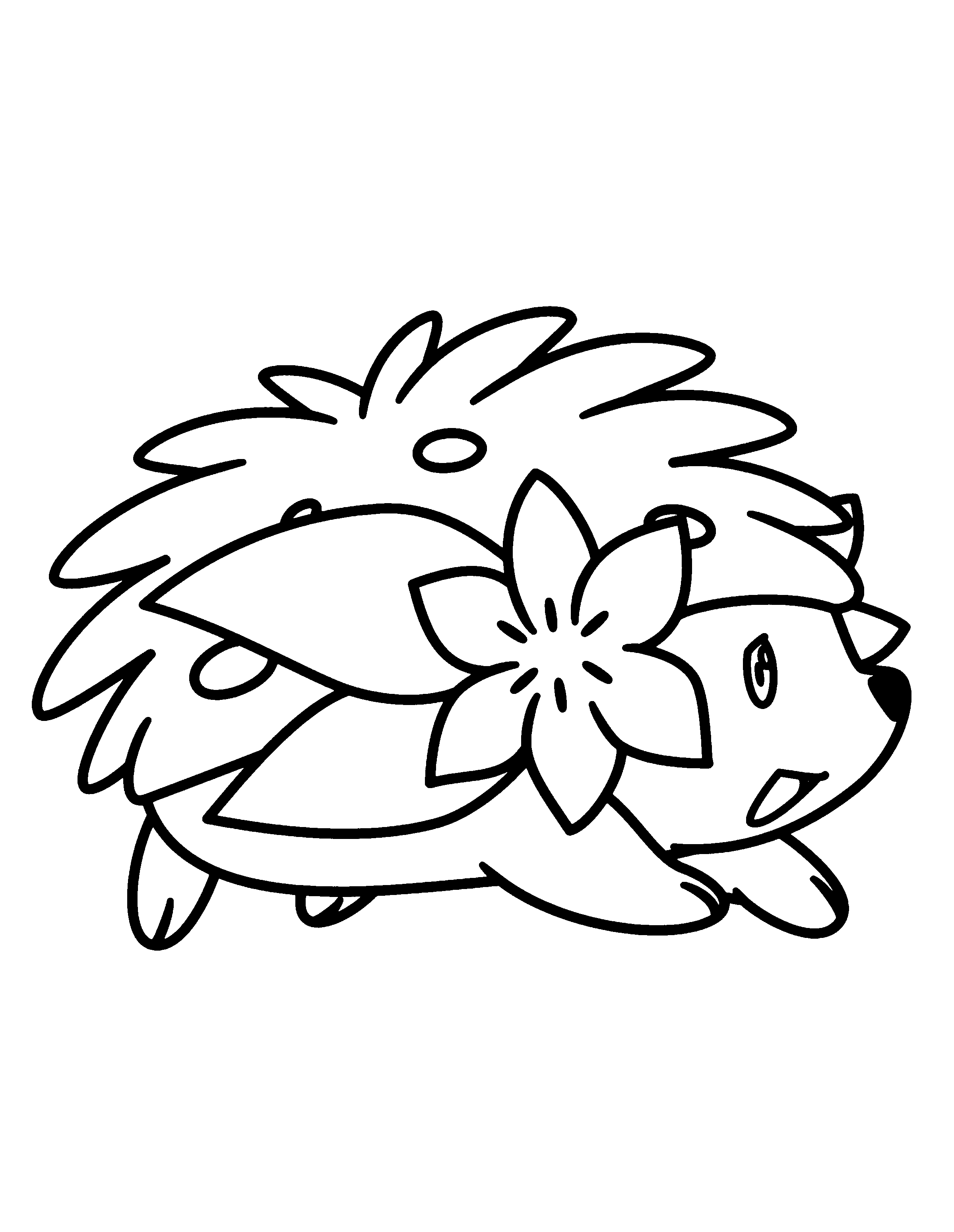 Pokemon diamond pearl Coloring Pages - Coloringpages1001.com