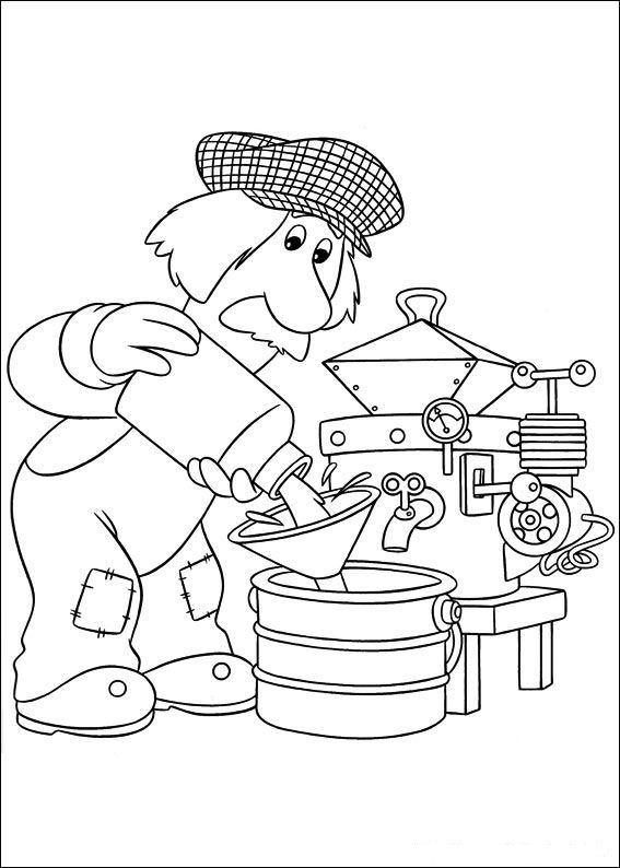 pstman pat colouring pages. Postman pat Coloring Pages  Coloringpages1001 com