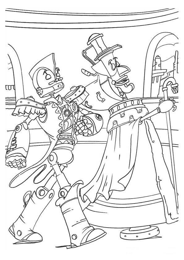 Robots Coloring Pages Coloringpages1001