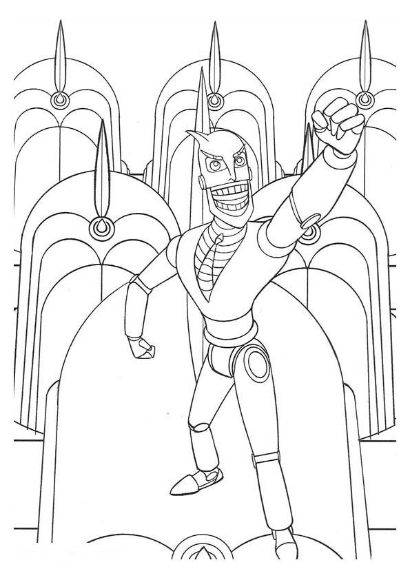 Colouring Pages For Real Steel Robots Coloring Coloringpages