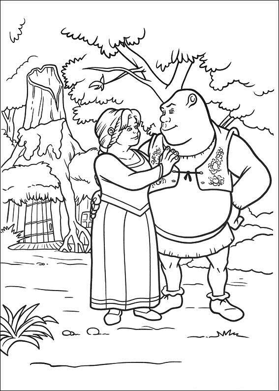 shrek 4 coloring pages coloringpages1001com