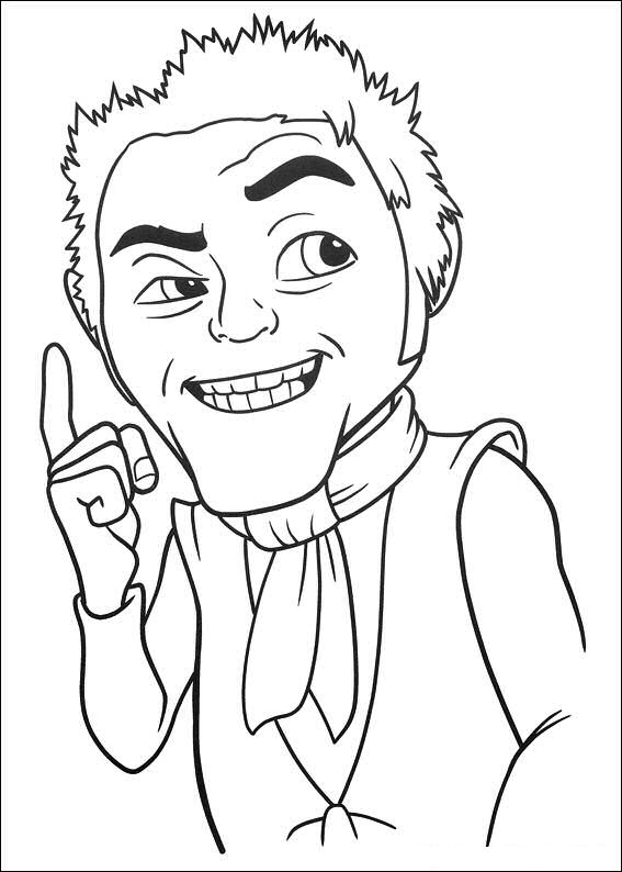 shreck coloring pages - photo#35