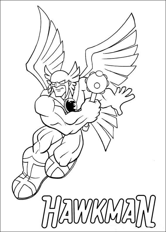 ... Superfriends Coloring Pages ...