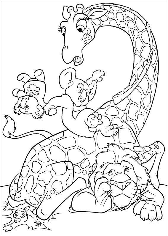 disneys the wild coloring pages - photo#43