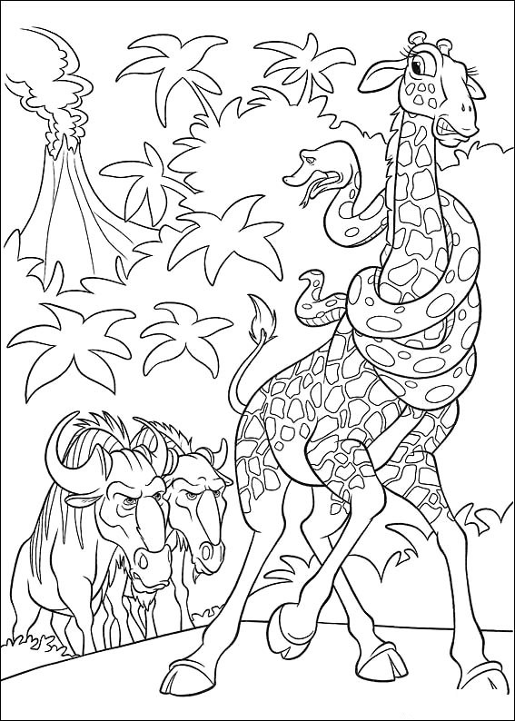disneys the wild coloring pages - photo#14