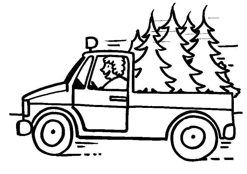 truck coloring pages coloringpages1001