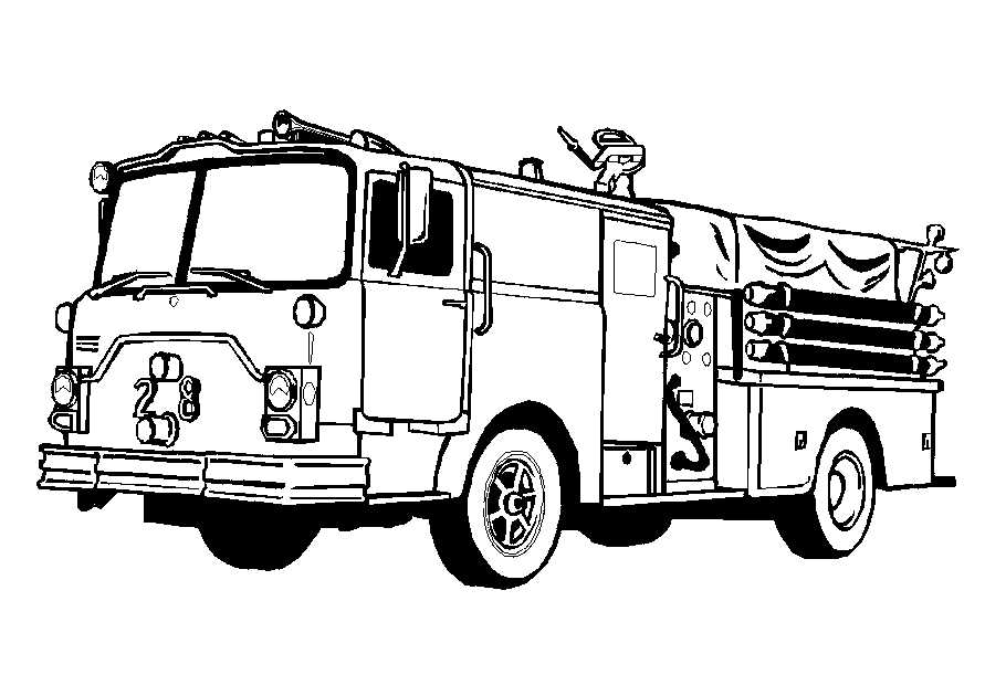 truck coloring pages - photo#3