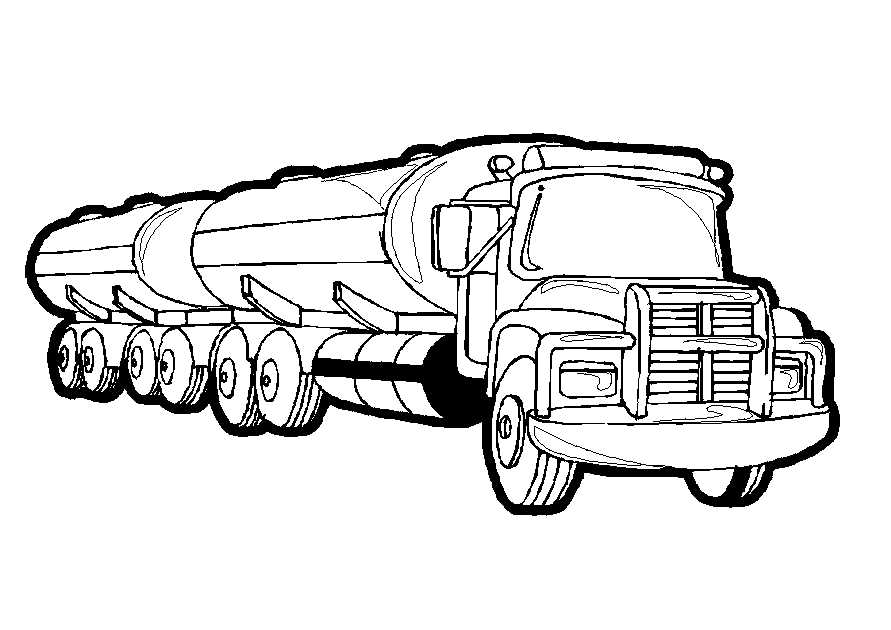 truck coloring pages - photo#12